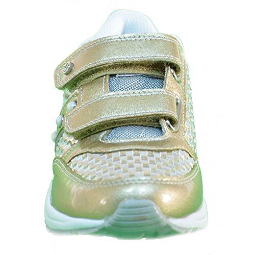 Naturino - Naturino Scarpe Bambina Oro Pelle Strappi 448 Oro