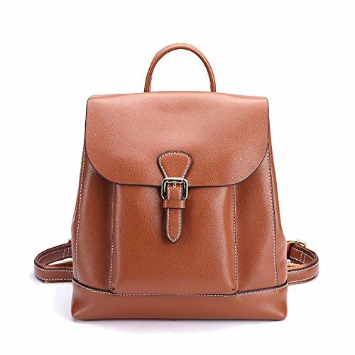 il retro della borsa di pelle borsa donne viaggi?vino rosso brown