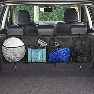 Kofferraum Organizer,Topist Multi-Tasche Kofferraumtasche/Rücksitz Organizer/Auto Aufbewahrungstasche/Rücksitztasche/Auto-Organizer/Auto Organizer/Sitztasche/Sitzlehnentasche/Auto-Sitztasche