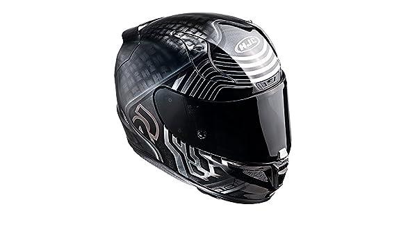 1f5e757f63d81 Casque Moto Hjc Star Wars Rpha 11 Kylo Ren Noir-Blanc (S