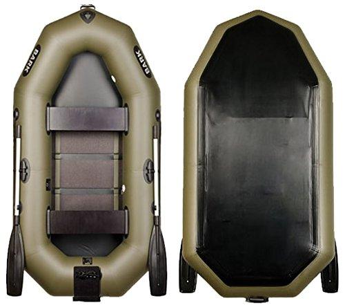 Bark B-240CN 2.4 m 7.9 ft Schlauchboot 2 Personen mit Heckspiegel für Motor Angelboot Motorboot Ruderboot Paddelboot Gummiboot Sportboot aufblasbar Boot Inflatable Boat Dinghy Angeln