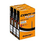 Continental Race 28 Bicicleta Tubo Interno SV 42 mm 3 Pack Value Pack