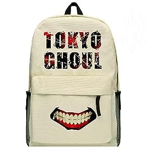 Outdoor Top femmes Tokyo fantômes Canvas Sac à dos cartable Fashion Sac à dos Sac de Voyage Japonais Motif fantômes