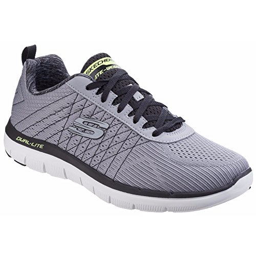 Skechers Flex Advantage 2.0-The Happs, Chaussures Multisport Outdoor Homme Navy blue