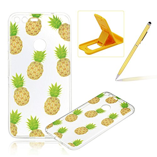 for-google-pixel-casefor-google-pixel-coverherzzer-ultra-slim-fashion-pineapples-pattern-clear-cryst