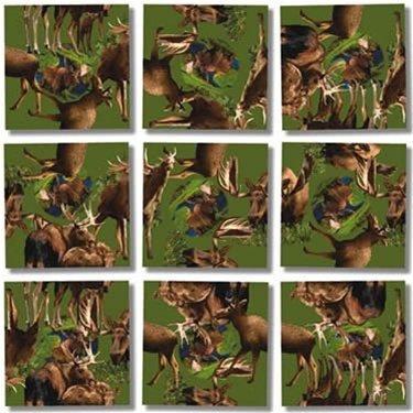 Scramble Squares Puzzle Moose! by B.Dazzle