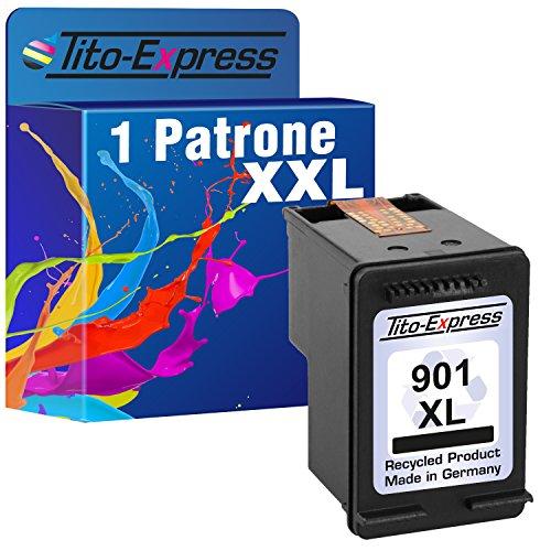 Tito-Express PlatinumSerie 1x Tinten-Patrone für HP 901 XL Black OfficeJet J4500 J4524 J4535 J4540 J4550 J4580