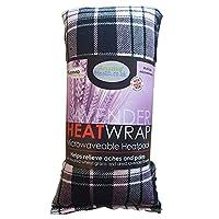 Amazing Health Wheat and Lavender Heat Pack Micro-Hotties UK Made (tartan)