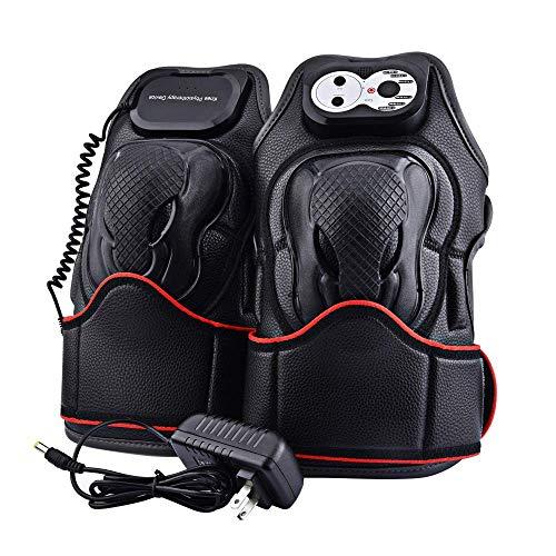 WANGXN Tragbarer Knie Pflege Elektro-Massager mit Vibrationsheiz-Magnetik-Physiotherapie Massage (Hitze Knie Massager Mit)