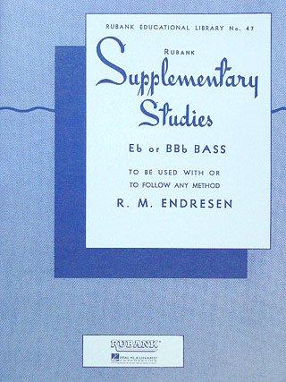 SUPPLEMENTARY STUDIES - arrangiert für Tuba [Noten / Sheetmusic] Komponist: ENDRESEN R M aus der Reihe: RUBANK EDUCATIONAL LIBRARY 47