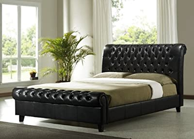 Brand New Richmond Faux Leather Bed Frame