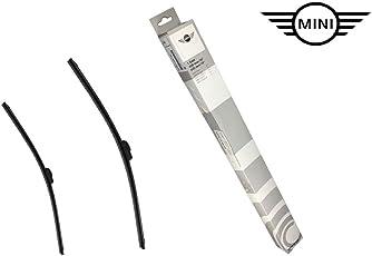 Original MINI Wischerblätter Evo Flachblatt mit Logo für MINI Coupe R50 R53 Cooper S