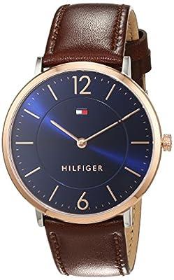 Tommy Hilfiger Hombre Reloj de pulsera Sophisticated Sport analógico de cuarzo piel 1710354