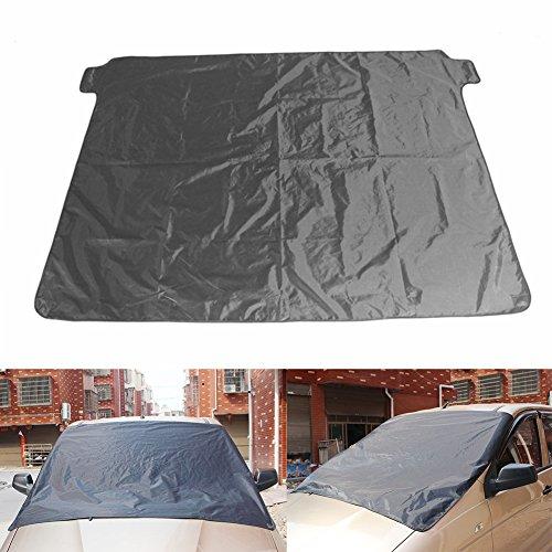 Preisvergleich Produktbild Windschutzscheibe Schnee,  luerme Auto Schnee Abdeckung Magnetische Universal Auto Windschutzscheibe Schatten Cover 172 x 122 cm