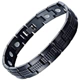 Moneekar Jewels Titanium Magnetic Therapy 3500 Gauss Each Magnet Pain Relief for Arthritis