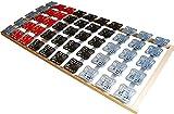5 Zonen Teller Lattenrost / Tellerfeder Lattenrahmen 160 x 200 cm Kopf- und Fußteil unverstellbar Tellerlattenrost Tellerlattenrahmen günstig