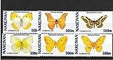 Briefmarken zum Sammeln–Schmetterlinge Stempel Set MNH Stempel-Set/Azerbaycan/