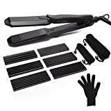 Hair Iron Hair Straightener 4 in 1 ULG Professional Dual Voltage Curling