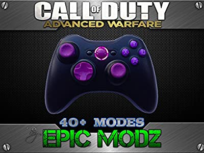 Epic Modz Xbox 360 Rapid Fire Purple Controller