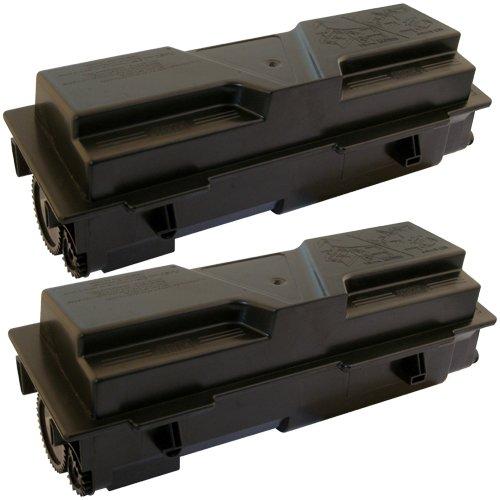 Preisvergleich Produktbild 2x Toner-Kartusche XXL Schwarz für Kyocera Mita TK-160 FS-1120 FS-1120D FS-1120DN 16.000 Seiten PlatinumSerie