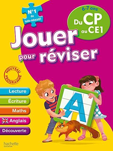 Jouer pour réviser - Du CP au CE1 6-7 ans - Cahier de vacances par Collectif