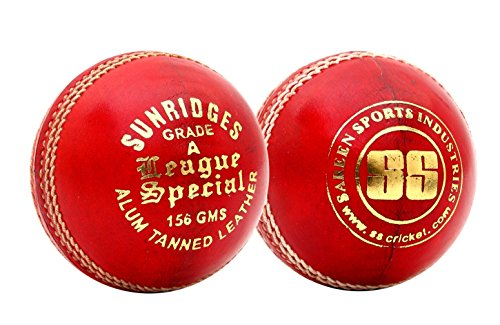 SS-League-Special-Alum-Tanned-Cricket-Balls-Pack-of-12-Red