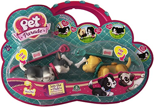 Preisvergleich Produktbild Pet Parade Twin Puppy Pack - Husky and Labrador