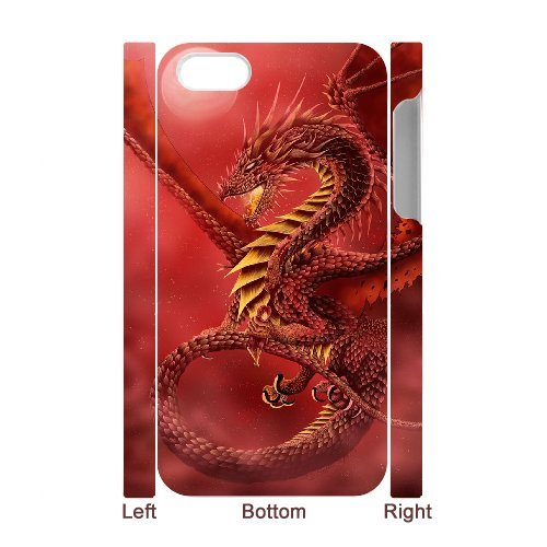 LP-LG Phone Case Of Red Dragon For Iphone 5C [Pattern-6] Pattern-6