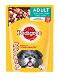 #10: Pedigree Adult Dog Food Chicken & Liver Chunks Flavour In Gravy, 80 g