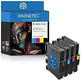 Farbset 4X Original NINETEC NT-4R41M Tintenpatronen Kompatibel zu Ricoh GC41