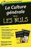 Coffret Culture générale poche pour les nuls : 2 livres : Histoire, géographie, art, littérature - Science, religion, philosophie, société