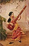 #8: Kadambari - Raja Ravi Varma - A3 Poster