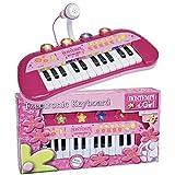 BONTEMPI - 122971 - Instrument de Musique - Clavier Électronique Rose - 24...