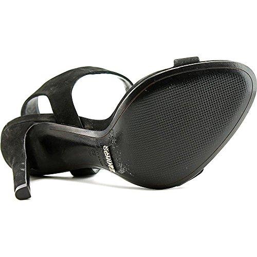 Schutz Dubia Cuir Sandales Black
