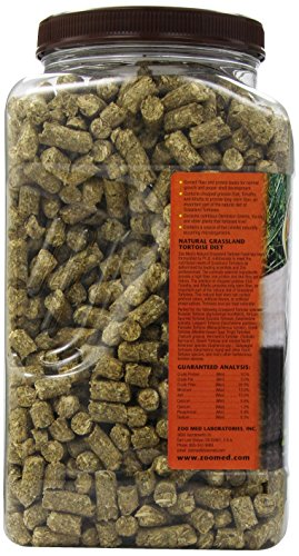 Zoo Med Grassland Tortoise Natural Fiber Food 1.7kg 4