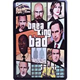 Blechschild 20x30 cm US Kult Serie Breaking Bad Film Plakat Werbung Metall Schild