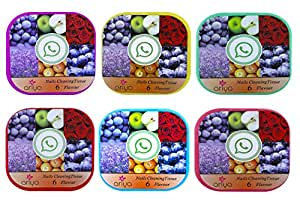 LNG Nail Polish Remover Wipes Round (6 Packs of 25 Pads each, Total 150 pads) with Slow Evaporation and No White Nails (Pack Of 6)