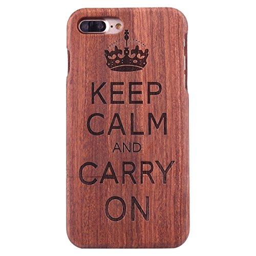 Hülle für iPhone 7 plus , Schutzhülle Für iPhone 7 Plus Rosewood Schützende Rücken Trennbare Artistic Carving Tiger Kopf Muster Fall Shell ,hülle für iPhone 7 plus , case for iphone 7 plus ( SKU : Ip7 Ip7p1450g