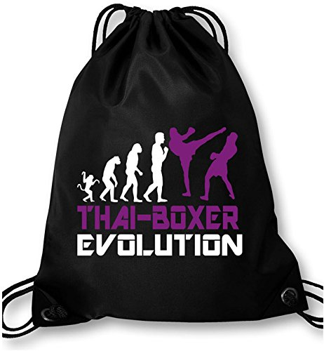EZYshirt® Thai Boxing Evolution Turnbeutel Abbildung 3