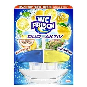 WC Frisch Duo Aktiv Duftspüler Lemon Original, 1 Stück, 50 ml