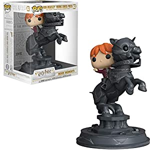 Funko Pop Ron montado en caballo de ajedrez (Harry Potter 82) Funko Pop Harry Potter