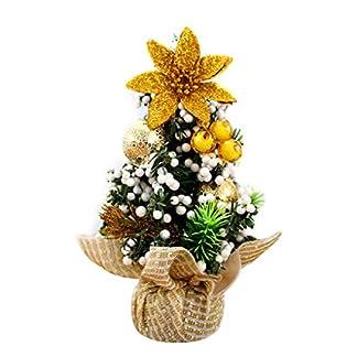 FeMereina-Mini-knstlicher-Weihnachtsbaum-mit-Ornamenten-Perfekte-Weihnachtsdekoration-fr-Tisch-und-Tischplatten-kleine-20-cm-hohe-Weihnachtskiefer-fr-Ihr-Zuhause-oder-Bro