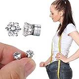 Shop Story - Ohrringe Diamant - Bio Magnet Schlankheitsmittel - reduziert Müdigkeit und fördert...