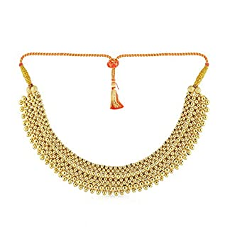Malabar Gold and Diamonds 22KT Yellow Gold Necklace for Women