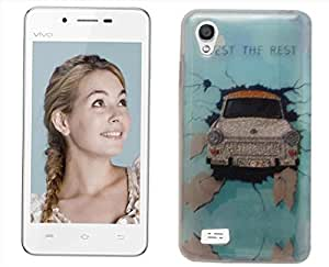 Generic Printed Mobile Back Cover / Back Case for Vivo Y11
