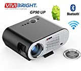 #9: Vivibright GP90UP Android & WIFI Portable Projector LED LCD 3200 Lumens 1280*800 Support 1080P