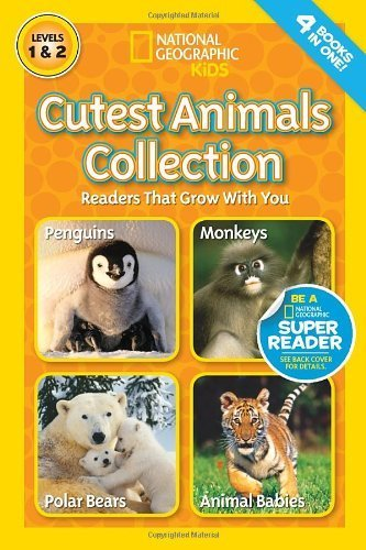 National Geographic Readers: Cutest Animals Collection by Schreiber, Anne, Marsh, Laura, Shields, Amy (2014) Paperback