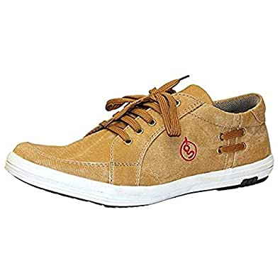 Guava Men'S Tan Synthetic Casual Shoes-10 Uk