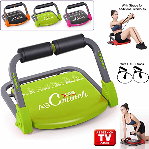 Xn8 ABS Core Smart Body Exercise Machine Fitness Trainer AB Toning Workout Gym Home Equipment (Lime Green)