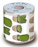 Servdeko Toilettenpapier Kaktus Geschenkidee 3-lagig in Geschenkverpackung Scherzartikel